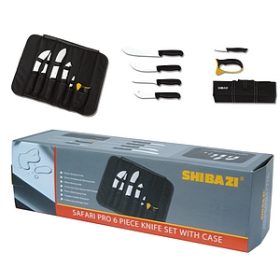 6 PC Roll-up Knife Set - SH3001