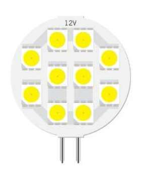 10 LED Caravan Light - G4-5050-10-WW (Warm White)