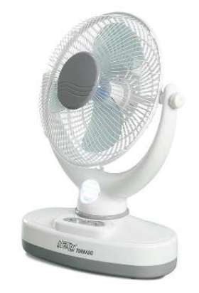 Oscillating Fan With Light  - MS5171