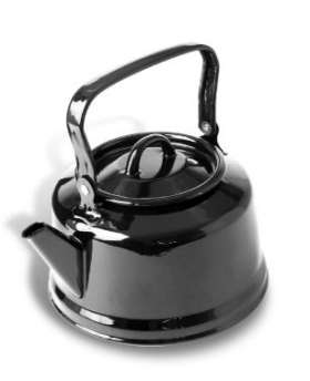 Black Enamel Kettle - MQ7981