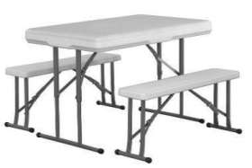 Beer Table 4 Seater - ZK-113SET