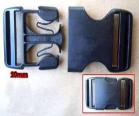 Webbing Buckles 20mm (2 pack) - WBL20P