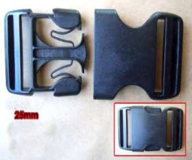 Webbing Buckles 25mm (2 pack) - WBL25P