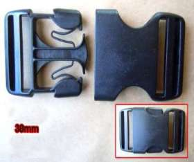 Webbing Buckles 38mm (2 pack) - WBL38P