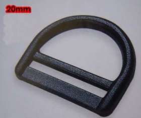 Webbing D-Ring 20mm (2 pack) - WDR20P