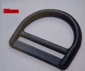 Webbing D-Ring 25mm (2 pack) - WDR25P
