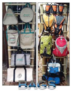 Canvas bags & Day packs