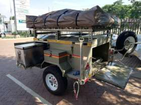 Venter Bush Baby Braked Trailer