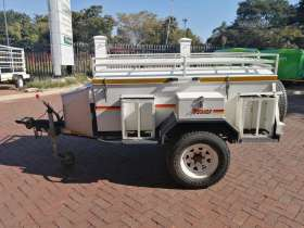Venter Off Road Braked Trailer