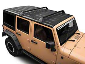 Roof rack without slats
