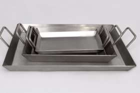 Stainless Steel Steak Plates