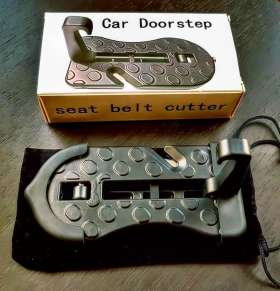 Car Doorstep & Seat Belt Cutter