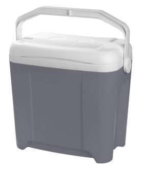 26 Litre Hard Body Cooler Silver - MQ8115