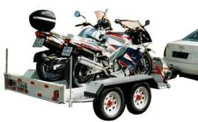 Twin Super Bike Trailer (Tandem)