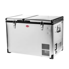 Classic Series - BDC-60D Stainless Steel Fridge/Freezer Double Door