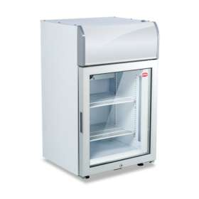 Glass Door Freezer with Light Box