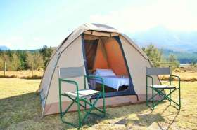 Dome Tent - Option 4