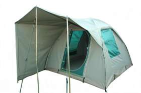 6. Canvas Dome Tent - 3.0 X 3.0 Windbreak