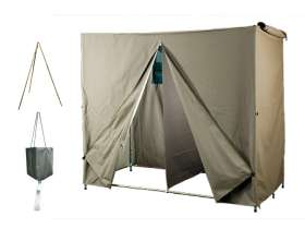 Double Shower Tent