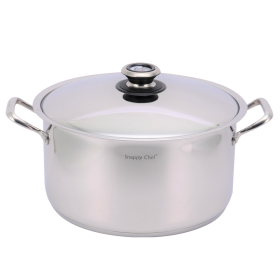Snappy Chef 14 litre Deluxe Stock Pot - SSDS014
