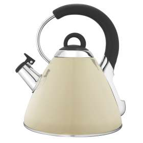 Snappy Chef Beige Whistling Kettle - KEBE002