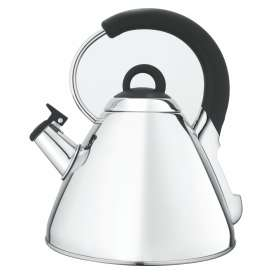 Snappy Chef Silver Whistling Kettle - KESI002