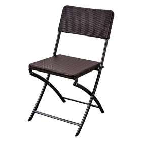 Kaufmann Foldable Chair HDPE Brown