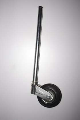 Jockey stem for luggage trailers