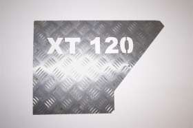XT 120 Name Plate