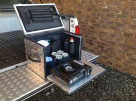 Mobile Kitchen Box