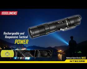 Nitecore MH12: Tactical Flashlight