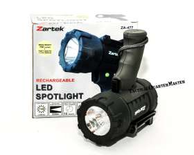 Zartek Rechargeable LED Spotlight 750 Lumens
