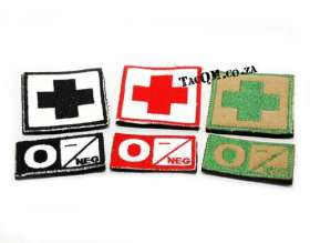 Blood Type Patches.