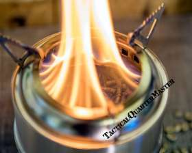 TheQM –  Multi-Fuel Camp Cook Stove