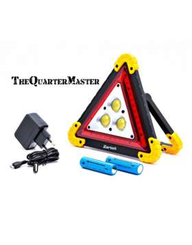 Rechargeable Warning Triangle