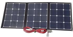 MOJAVE120 - COMPLETE - CAMPING SOLAR KIT BY FLEXOPOWER, 120W