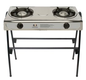 2 Burner Gas Stove With Legs - GCS04L