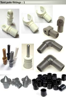 Tent Pole Fittings