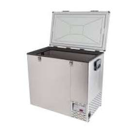 National Luna 125 Stainless Steel Refrigerator & Freezer