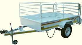 Flatdeck 3/4 Ton with Rails Unbraked