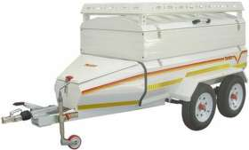 Venter Moonbuggy Super with extension frame and roof rack trailer
