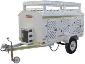 Venter 6 Dog with Roof Rack and Jerry Can Trailer