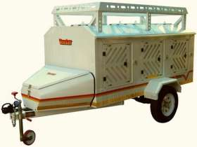 Venter 6 Dog with Roof Rack and Nosecone Trailer