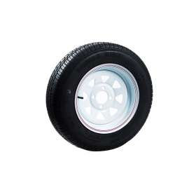 155 x 13 4 Stud 100 PCD Rim and Tyre Combo