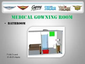 Medical Gowning Room - Bathroom