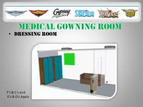 Medical Gowning Room - Dressing