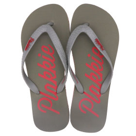 Plakkie Clifton (Grey and Red)