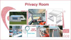 Caravanstore Privacy Room