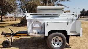 For sale 1996 Venter Offroad Trailer with Rooftop tent