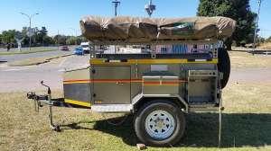 For sale Venter Bushbaby Trailer and Tent 2006 (3375)